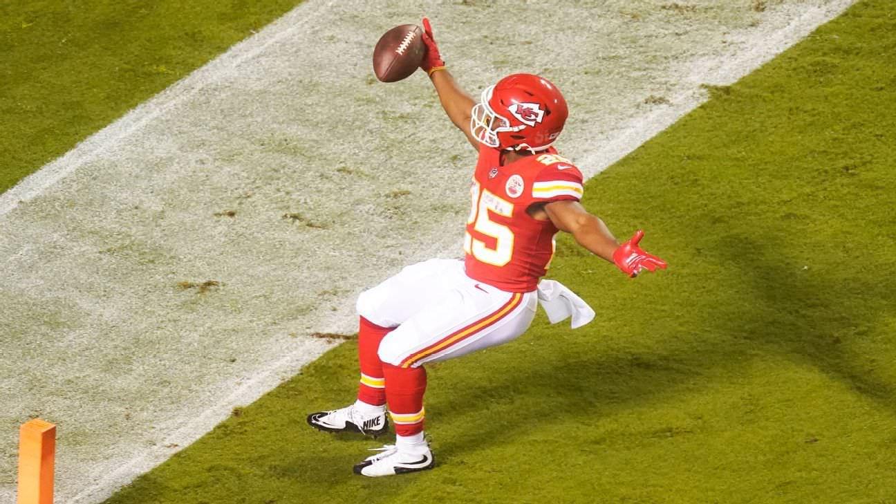 Classificação do Fantasy Football: NFL Week 7