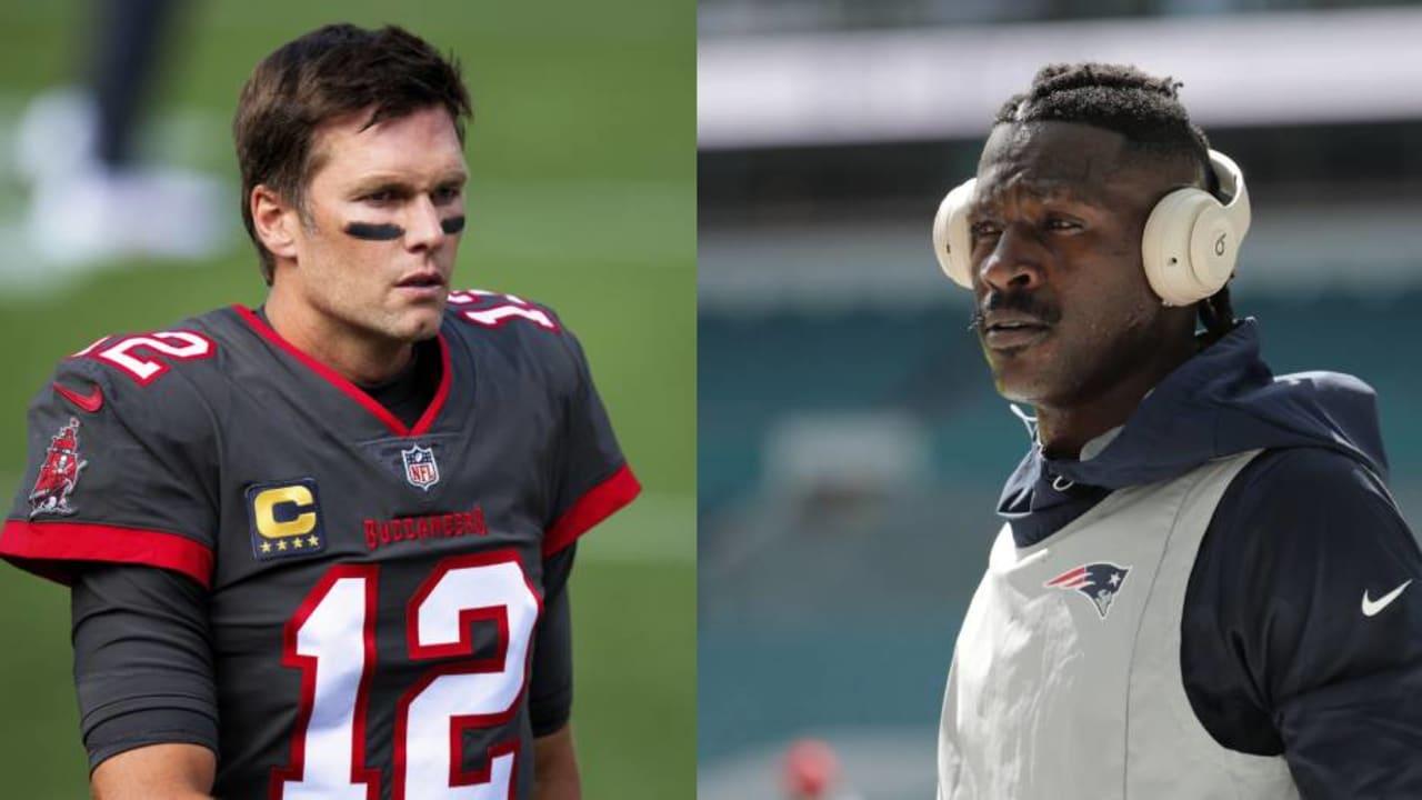 O sucesso da parceria entre Antonio Brown e Buccaneers recai sobre os ombros de Tom Brady – NFL.com