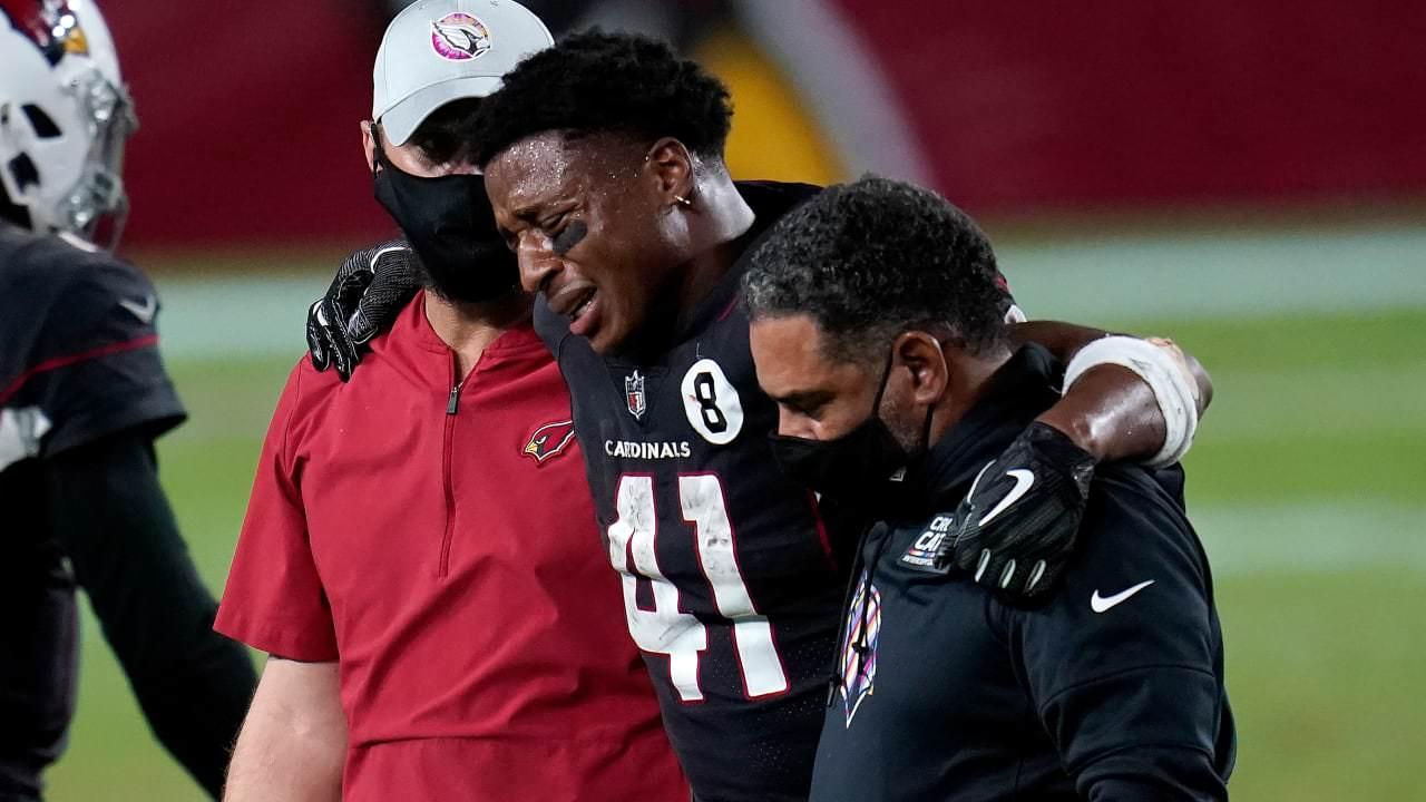 Cardinals RB Kenyan Drake (tornozelo) deve perder algumas semanas – NFL.com