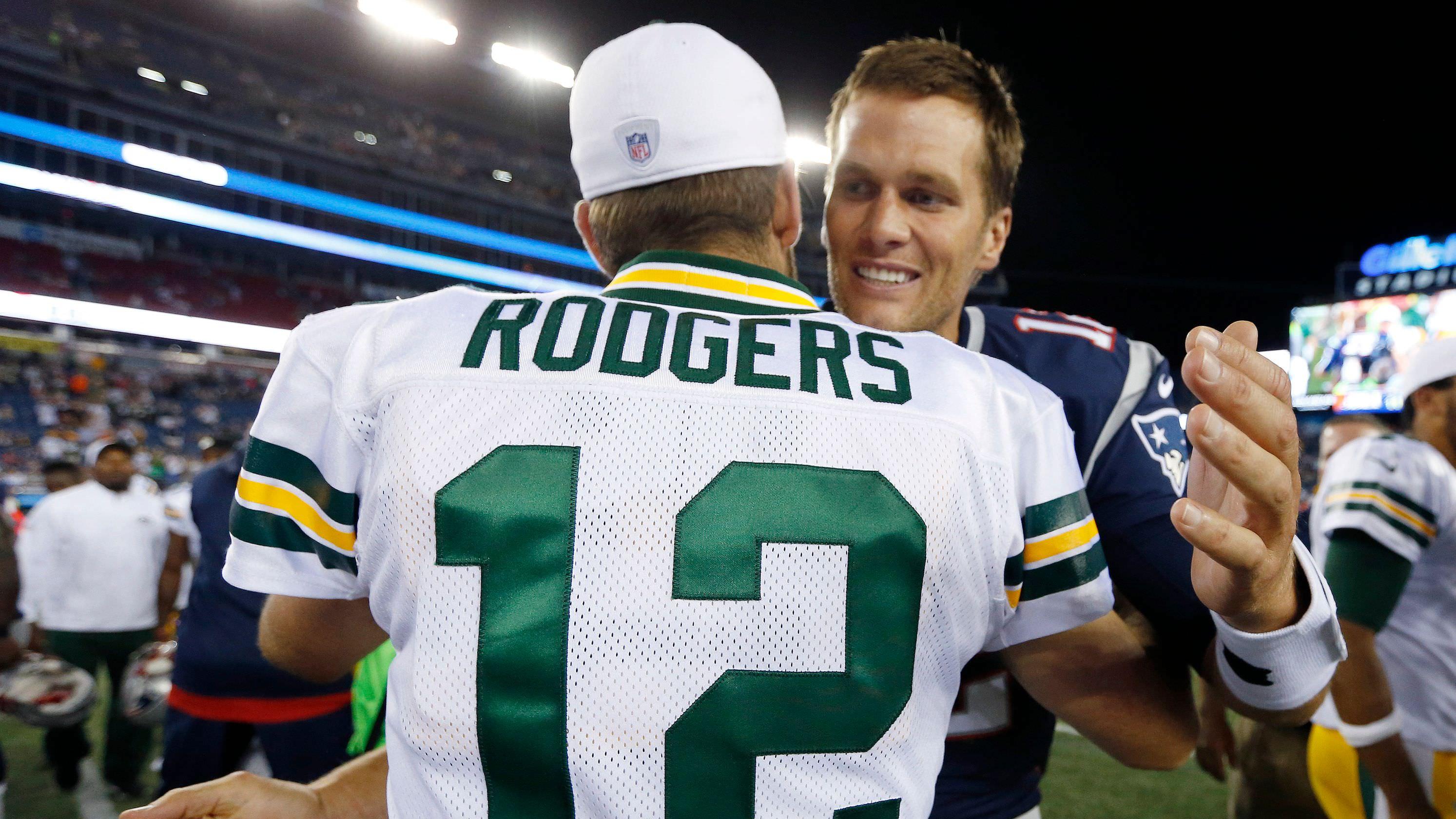 Saints-Rams é o ato de aquecimento perfeito para o evento principal: Tom Brady vs Aaron Rodgers