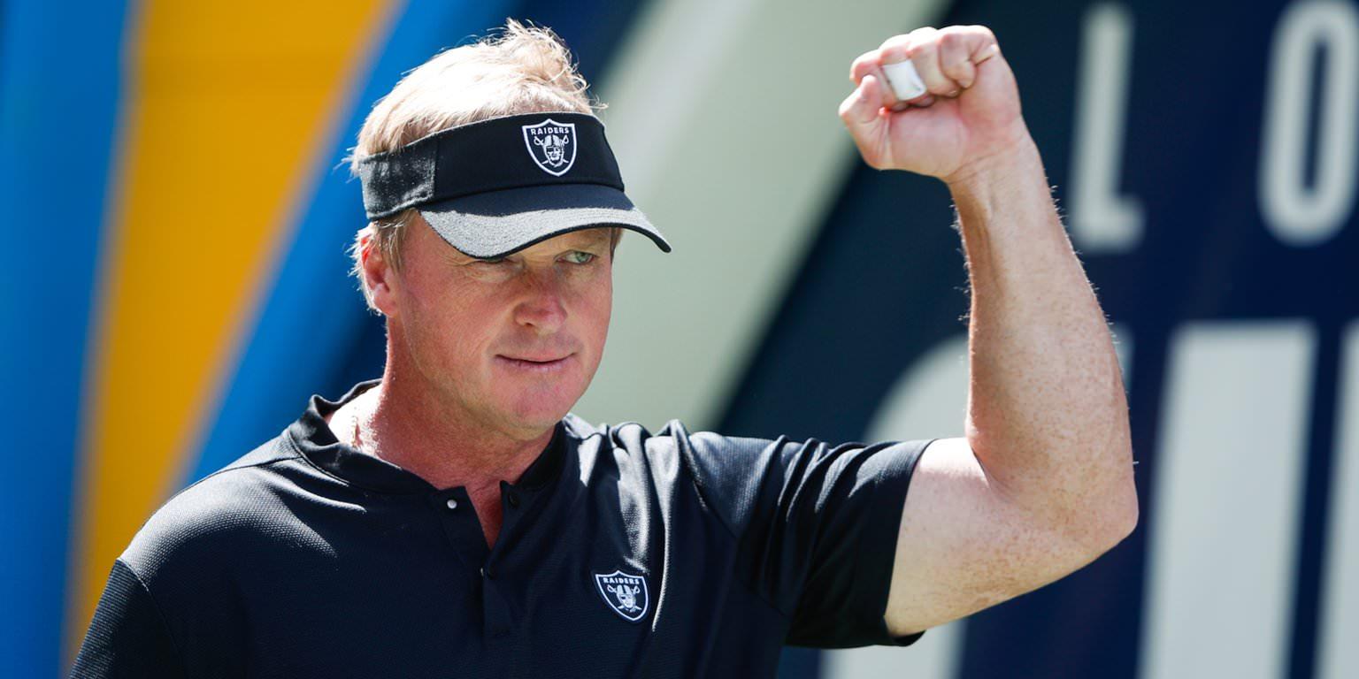 Jon Gruden troca Amari Cooper com os Cowboys e agora os Raiders estão prontos para dominar o draft da NFL 2019
