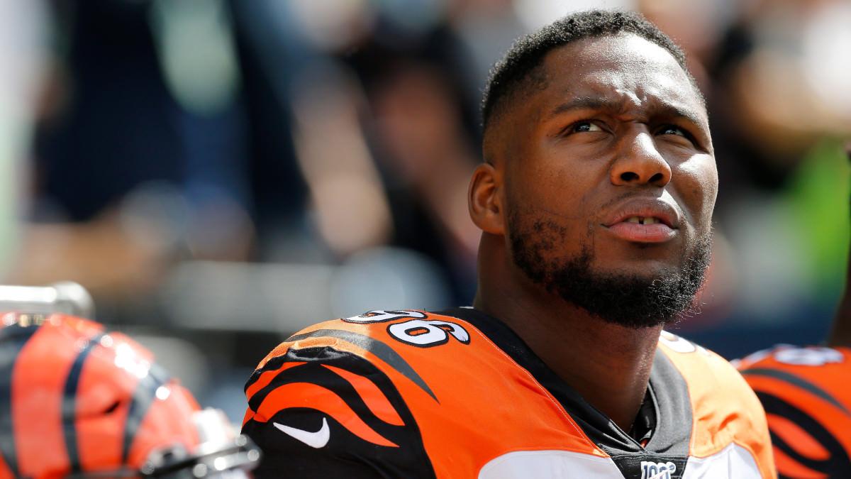 Carlos Dunlap, do Bengals, quer negociação antes do prazo da NFL
