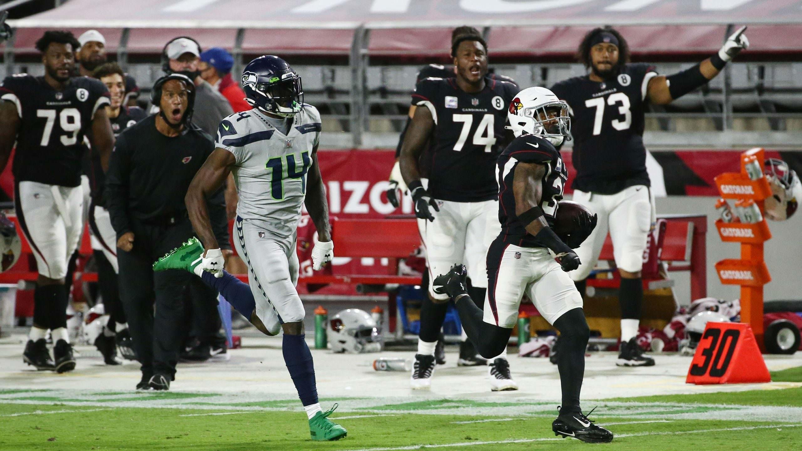 Apenas um time permanece invicto, os Patriots estão com problemas e DK Metcalf é assustadoramente rápido.  Aqui está nosso detalhamento da semana 7 da NFL.