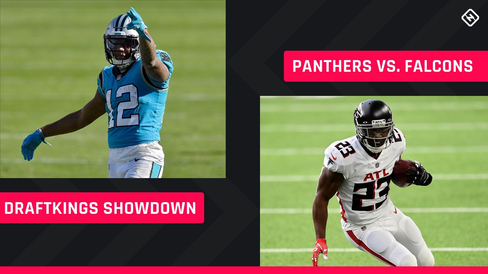 Quinta à noite Futebol DraftKings Picks: NFL DFS lineup conselho para a semana 8 torneios Panthers-Falcons Showdown