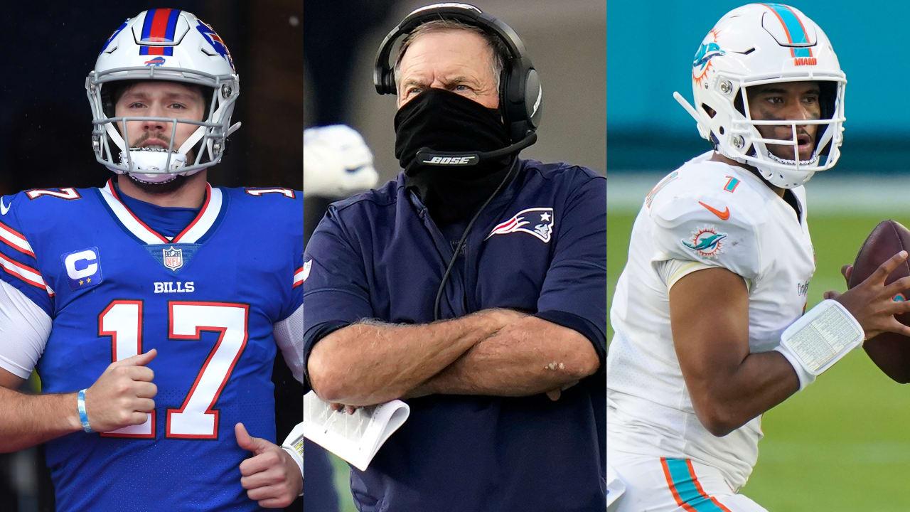 Tocha da AFC East em disputa com Patriots sputtering – NFL.com