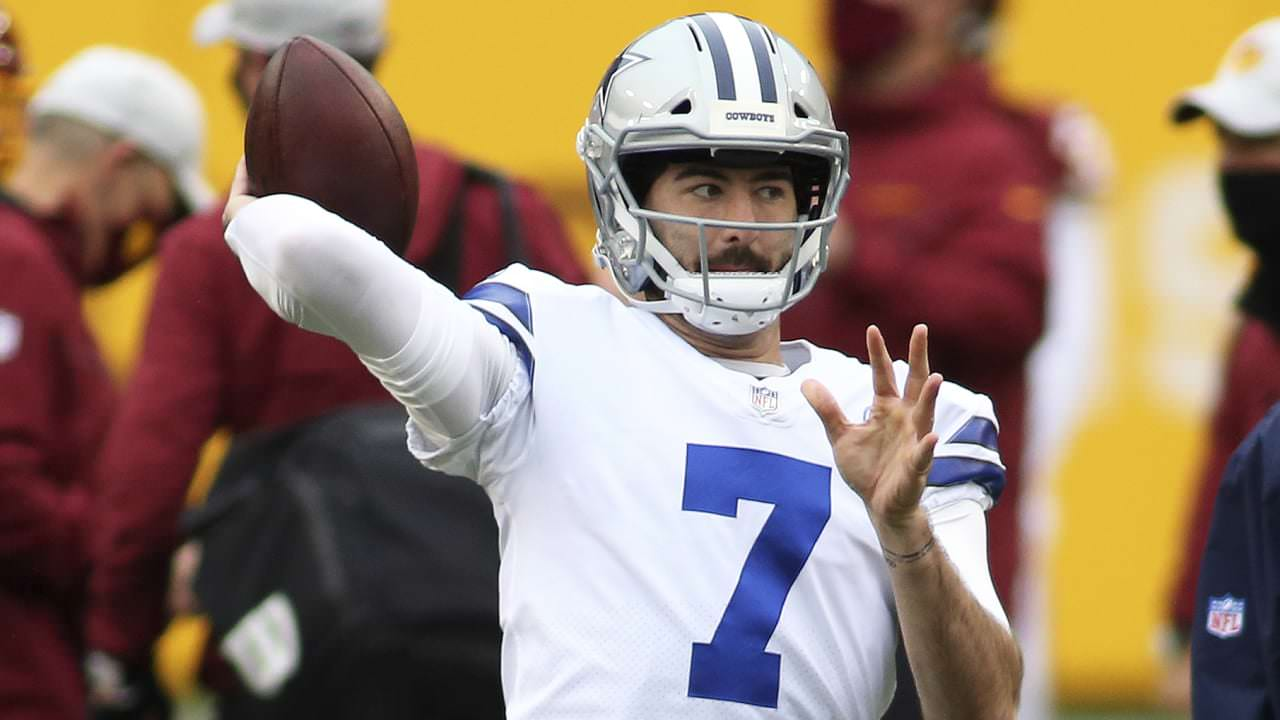 O iniciante do New Cowboys, Ben DiNucci, tem uma vantagem – NFL.com