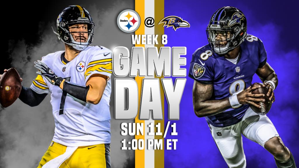 Pittsburgh Steelers vs. Baltimore Ravens transmissão ao vivo, como assistir, previsões de futebol da NFL, probabilidades, canal de TV, horário de início