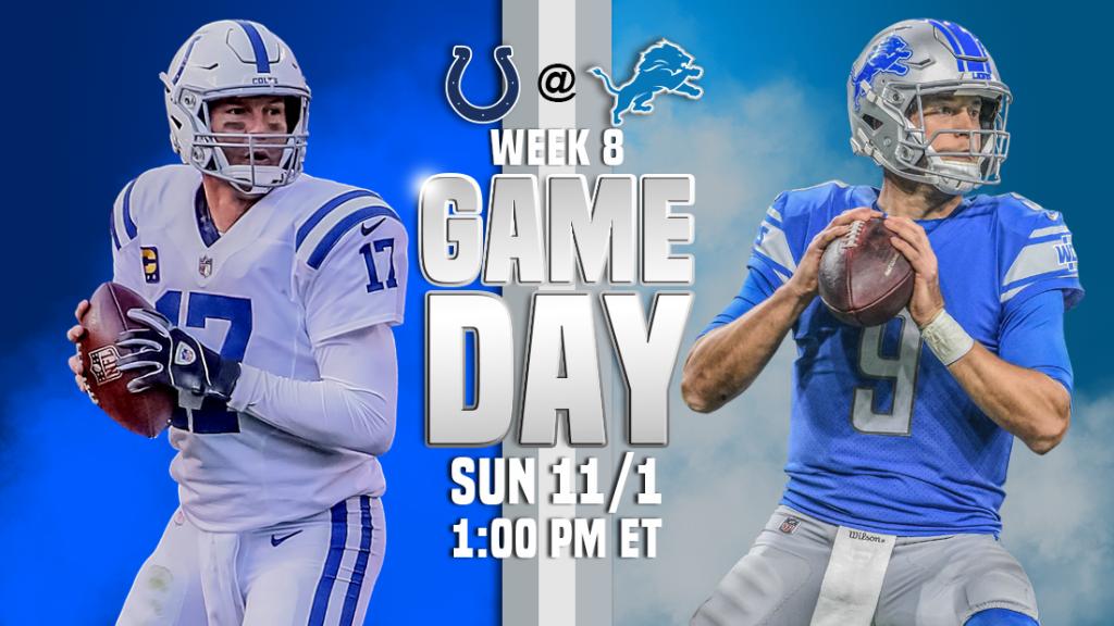 Transmissão ao vivo de Indianapolis Colts x Detroit Lions, como assistir, previsões de futebol da NFL, probabilidades, canal de TV, horário de início