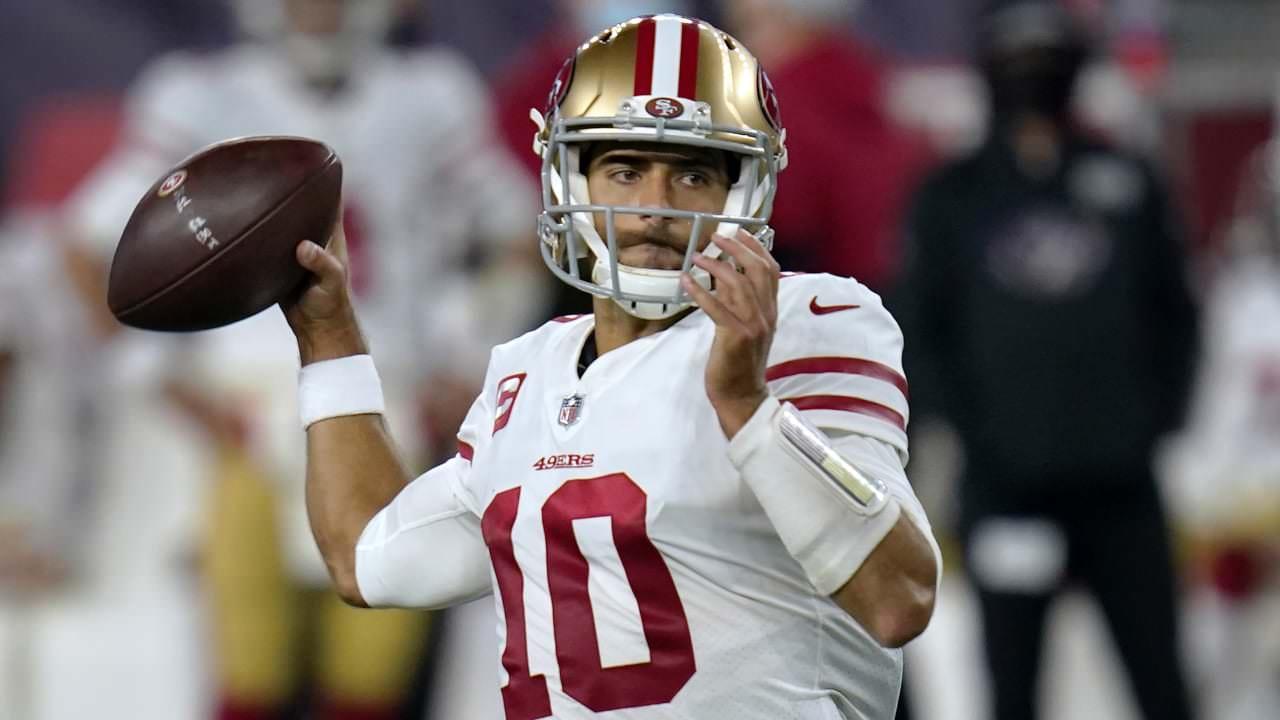 49ers QB Jimmy Garoppolo sofre nova entorse de tornozelo, provavelmente fora de 4 a 6 semanas – NFL.com