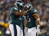 Grupos de posição mais profunda da NFL: reinos da linha D da Eagles