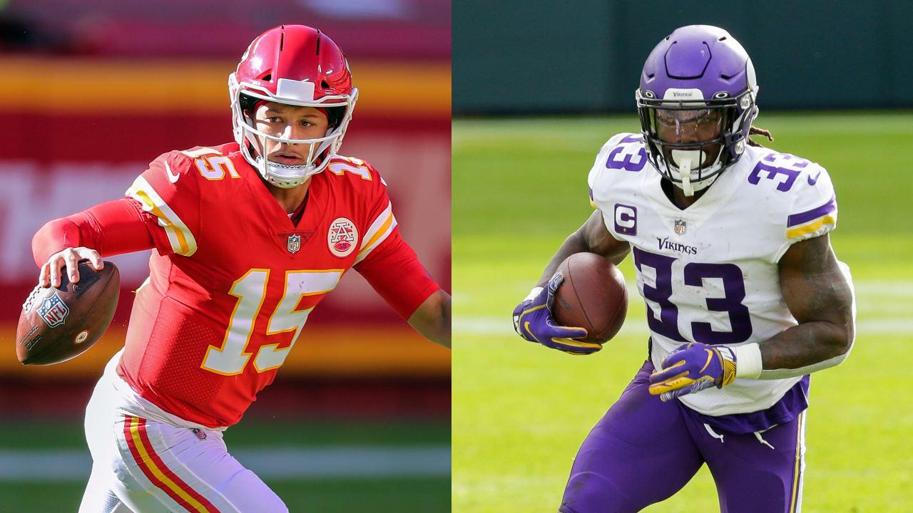 Chiefs QB Patrick Mahomes, Vikings RB Dalvin Cook entre os jogadores da semana – NFL.com
