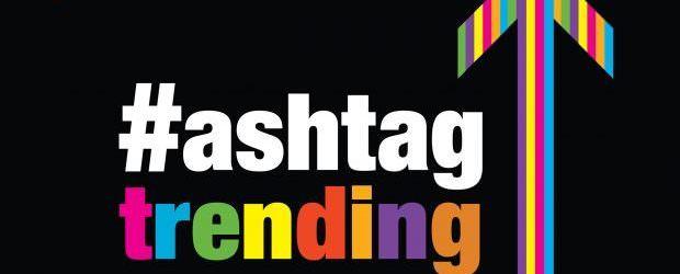 Tendências de hashtag – as vendas de livros estão empolgantes novamente;  Marketing de influência;  Banco de dados superespalhador