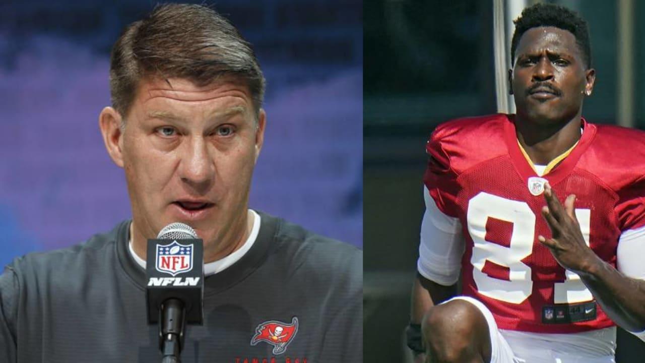 """Jason Licht, GM de Bucs, sobre Antonio Brown: """"Ele é tão explosivo"""" – NFL.com"""