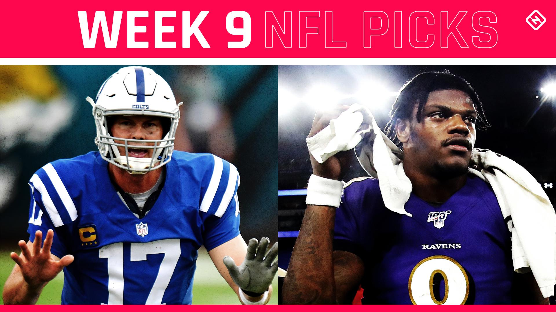 Escolhas da NFL, previsões para a Semana 9: Rebote dos Packers vs. 49ers;  Colts ficam quentes;  Tua leva golfinhos chateados