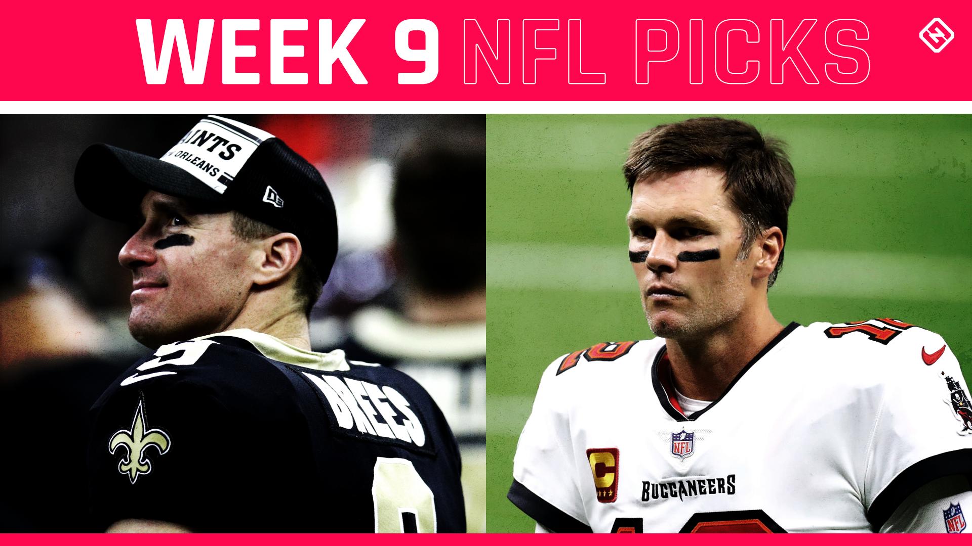 Escolhas da NFL, previsões contra propagação Semana 9: Buccaneers se vingam dos Santos;  Seahawks, Steelers continuam rolando