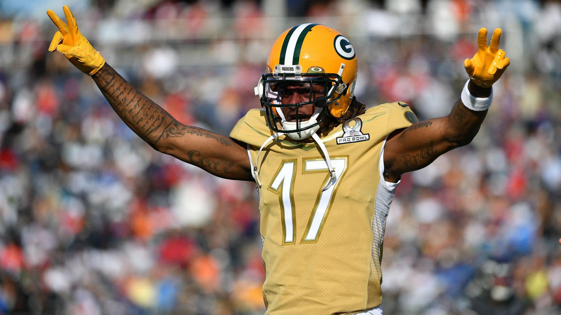 Como a estrela do Packers, Davante Adams, foi esquecida no Draft da NFL de 2014 após uma carreira recorde na faculdade