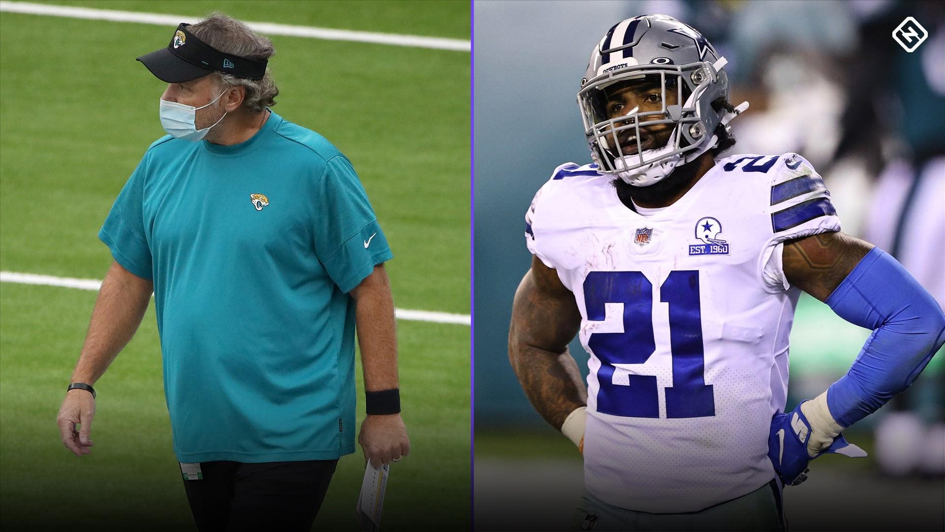 Ordem de draft da NFL atualizada para 2021: Cowboys passam para os três primeiros lugares, Jaguars saltam Giants com derrotas na semana 9