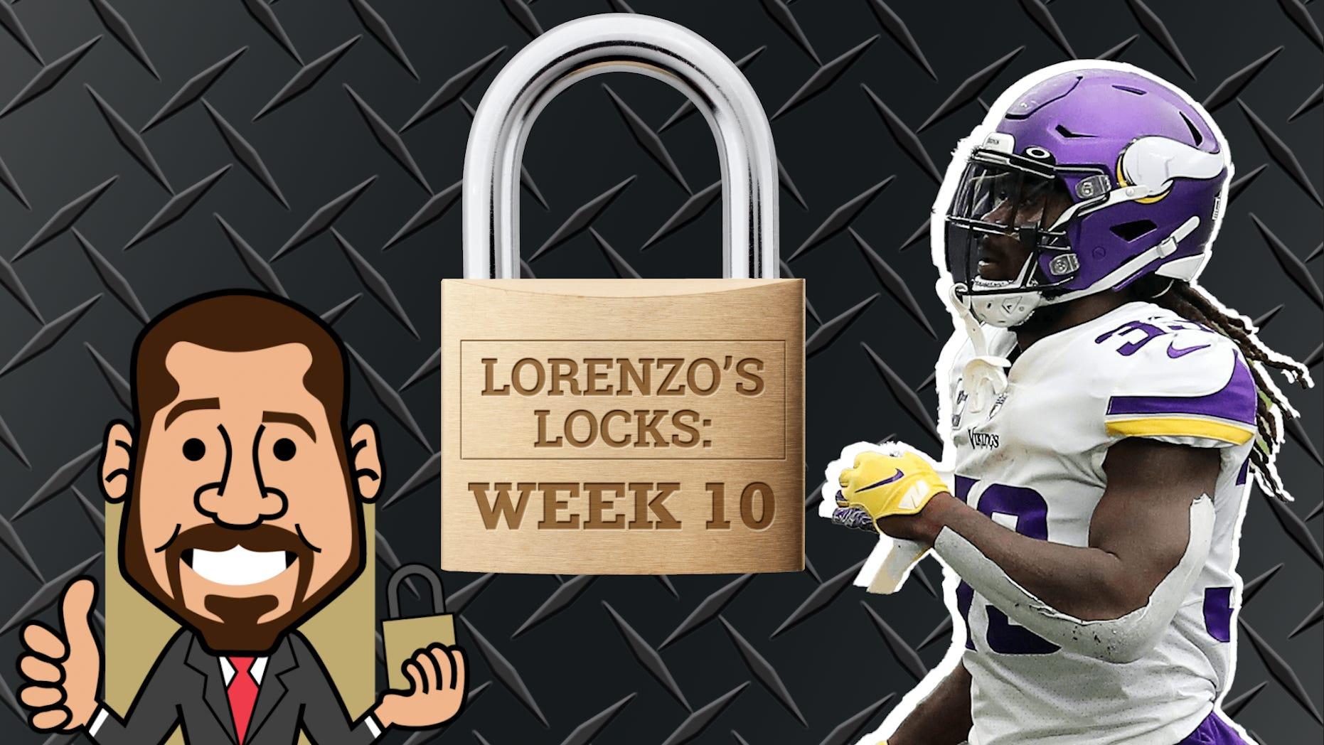 Lorenzo's Locks: As 3 melhores apostas que você deve considerar para a NFL Week 10