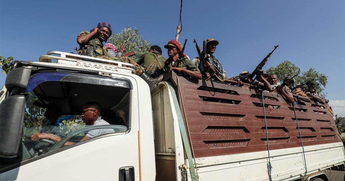 Crimes de guerra temidos no conflito de Tigray na Etiópia, enquanto milhares fogem para o vizinho Sudão