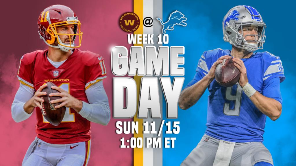 Transmissão ao vivo de Washington x Detroit Lions, como assistir, previsões de futebol da NFL, probabilidades, canal de TV, horário de início