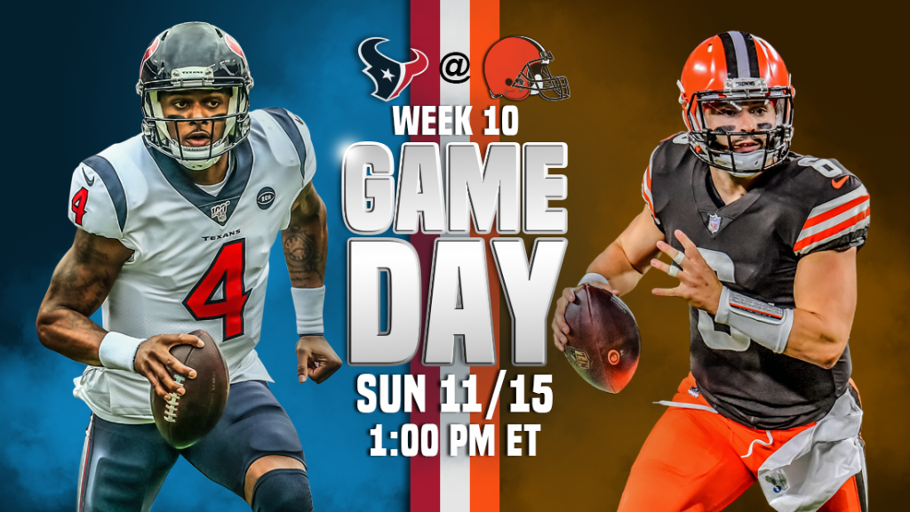 Transmissão ao vivo de Houston Texans x Cleveland Browns, como assistir, previsões de futebol da NFL, probabilidades, canal de TV, horário de início