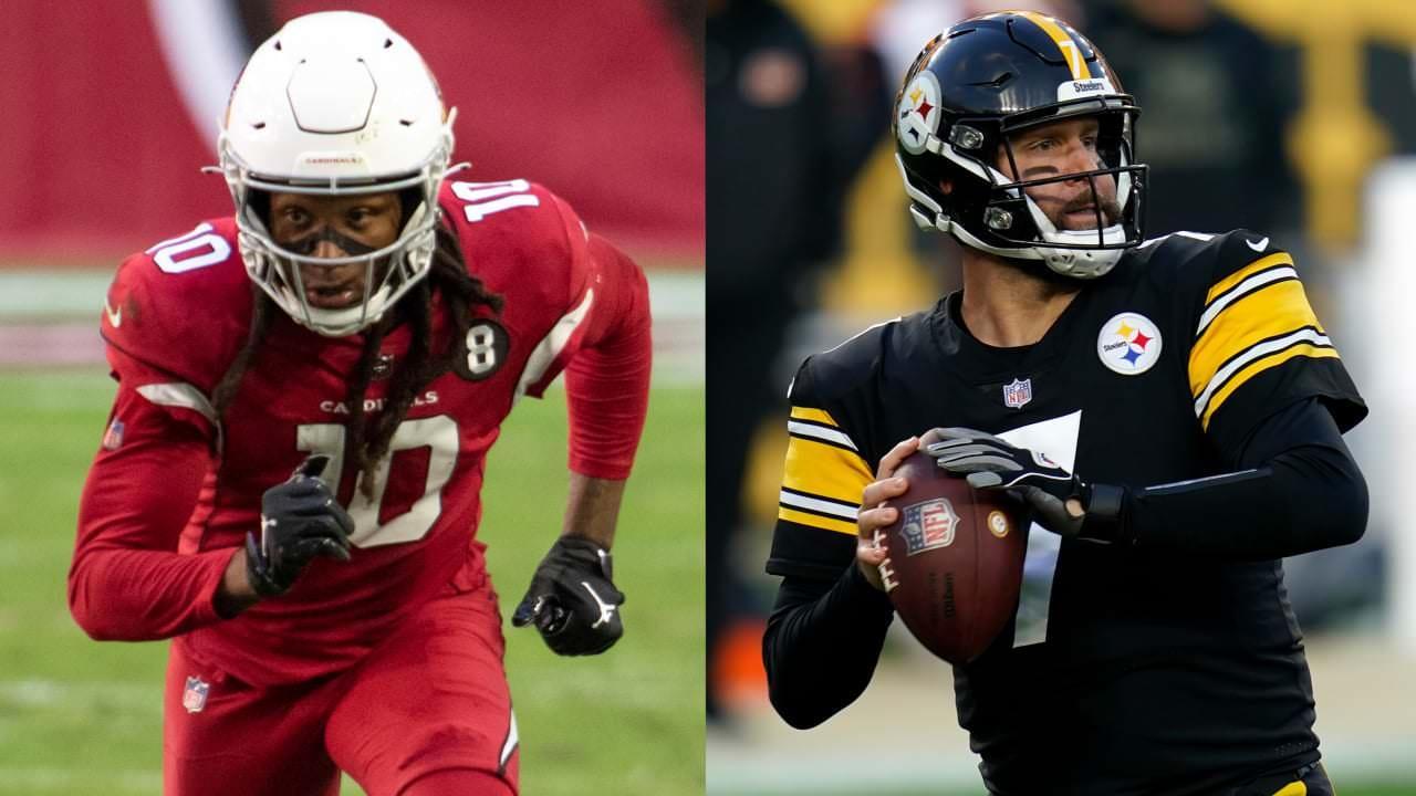 Cardinals WR DeAndre Hopkins, Steelers QB Ben Roethlisberger entre os jogadores da semana – NFL.com