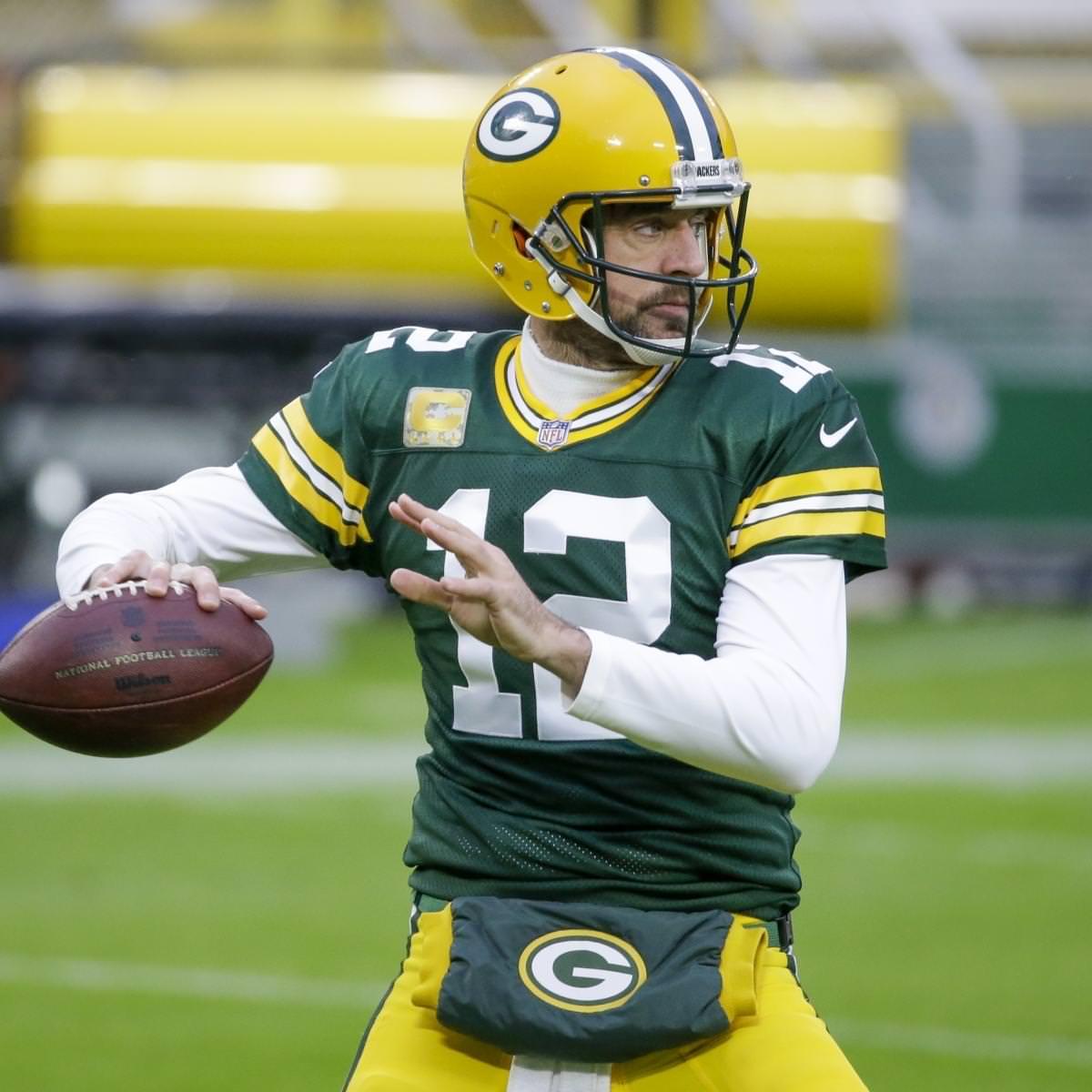 Aaron Rodgers do Packers não vai buscar emprego de radiodifusão após se aposentar da NFL