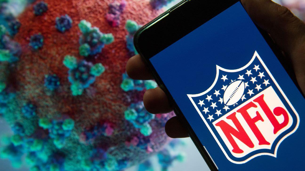 NFL colocando equipes em protocolos COVID intensivos