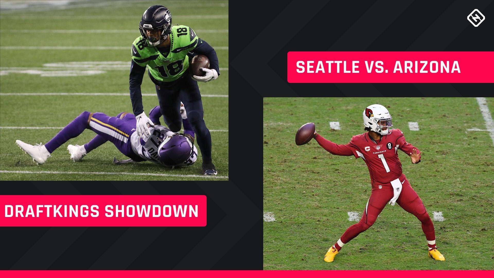 Quinta à noite Futebol DraftKings Picks: NFL DFS lineup conselho para a Semana 11 Seahawks-Cardinals Showdown torneios
