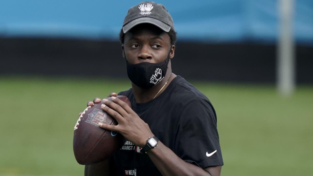 Panthers QB Teddy Bridgewater (joelho) inativo vs. Lions;  PJ Walker para começar – NFL.com