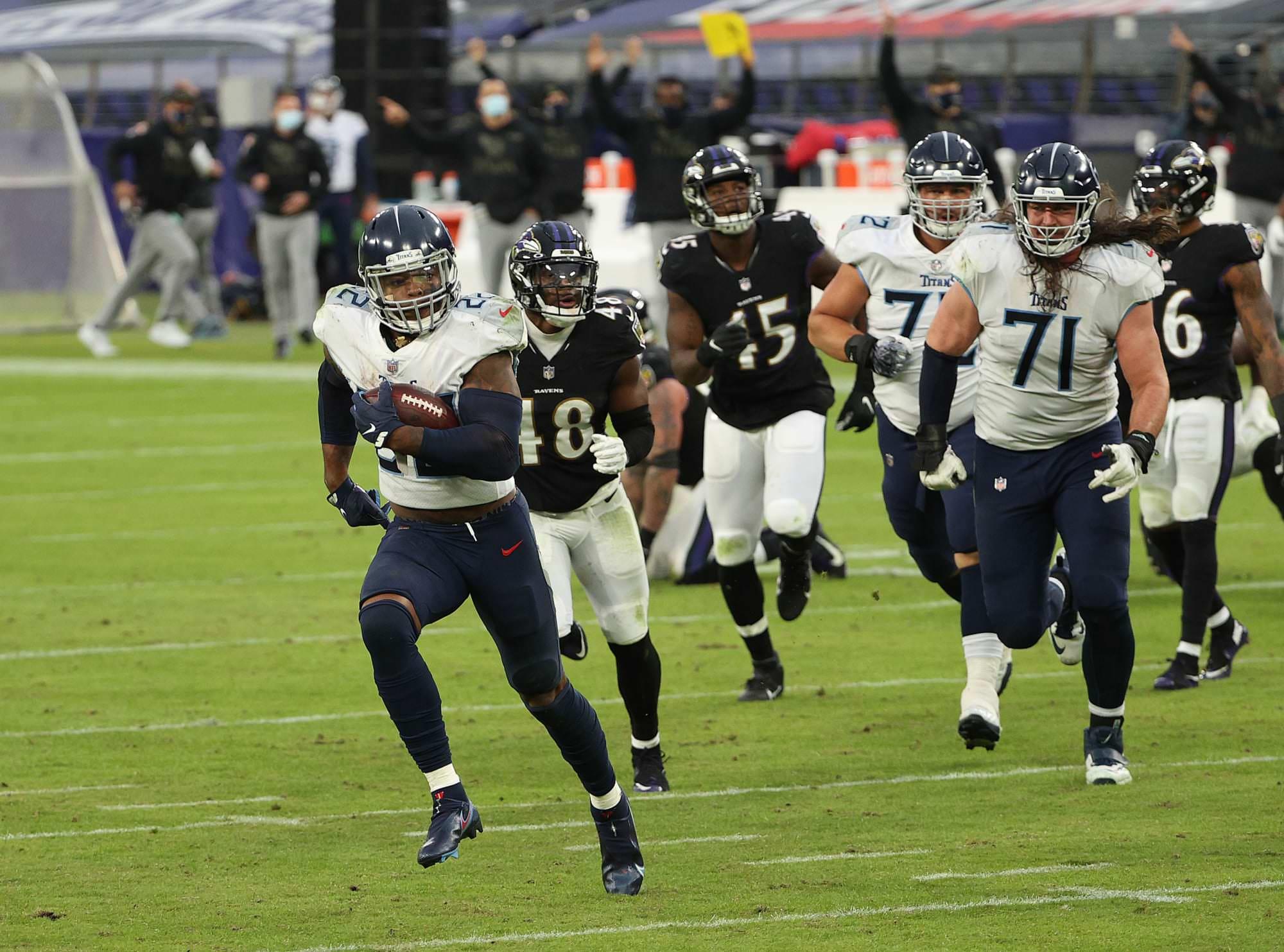 Classificações de poder da NFL em 2020, Semana 12: Titãs e Colts vencem no OT