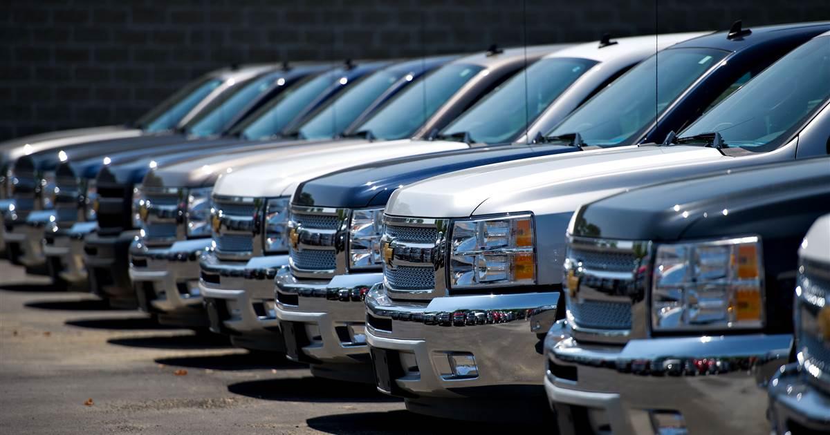 GM disse para recolher quase 6 milhões de caminhões com infladores Takata