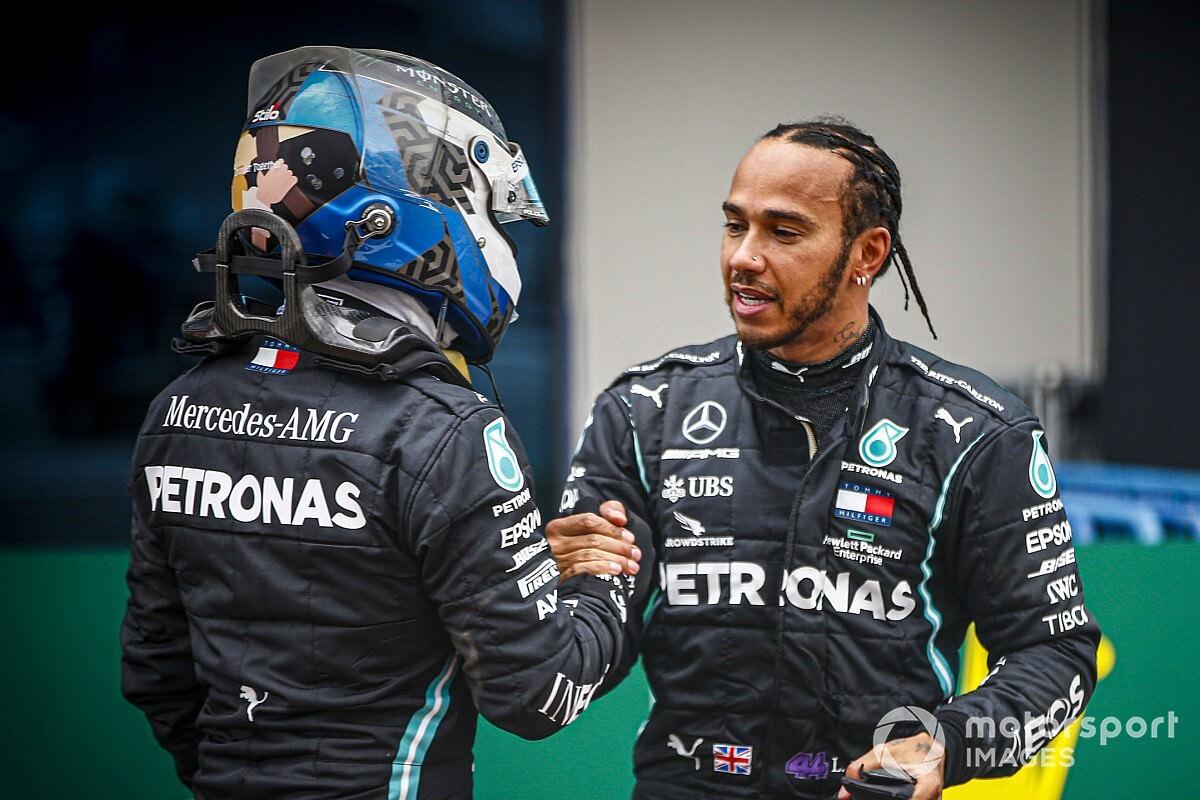 Hamilton: aponta lacuna para Bottas inflados pelo infortúnio