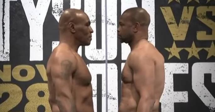 Uma superluta para todas as idades: visualização de Mike Tyson vs Roy Jones Jr