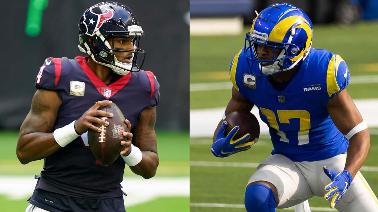 Texans QB Deshaun Watson e Rams WR Robert Woods lideram Players of the Week – NFL.com