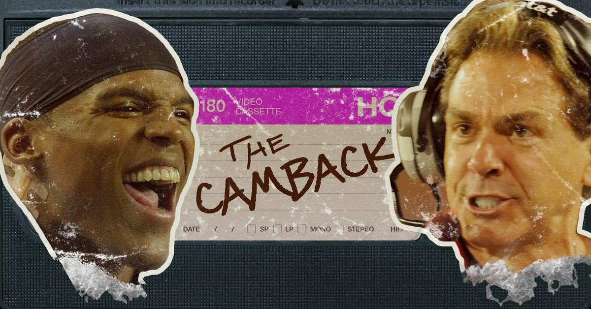 O retorno icônico de Cam Newton contra o Alabama merece um retrocesso profundo