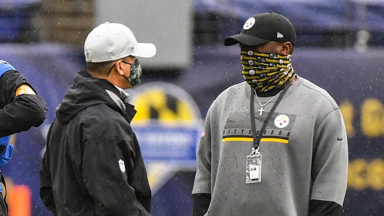 Fontes: Ravens-Steelers ainda na terça-feira