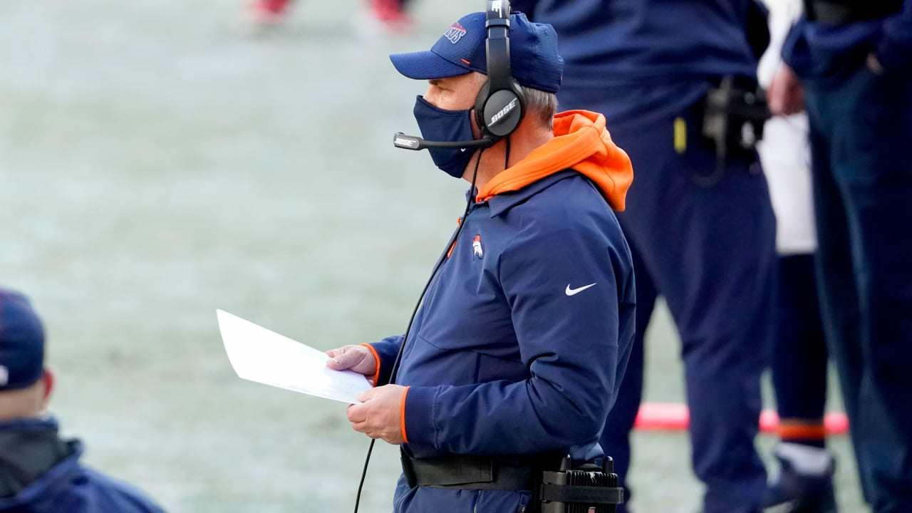 Vic Fangio 'decepcionado' no Broncos QBs por não seguir as regras do COVID – NFL.com