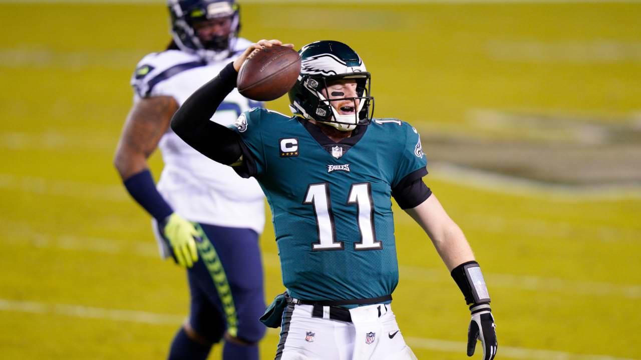 Outra noite de folga mostra Carson Wentz, ataque dos Eagles – NFL.com