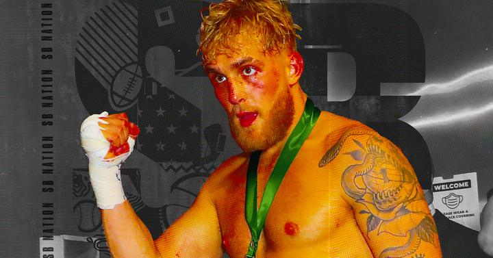 Jake Paul está preso entre a próxima grande atração do boxe e outro show secundário