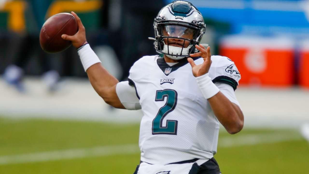 O estreante dos Eagles, QB Jalen Hurts, substitui Carson Wentz no 3T vs. Packers – NFL.com