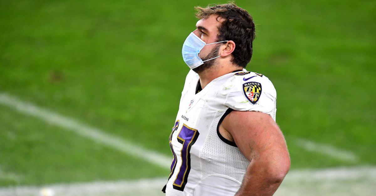Os Ravens podem perder os playoffs por causa da derrota no 'jogo Covid'