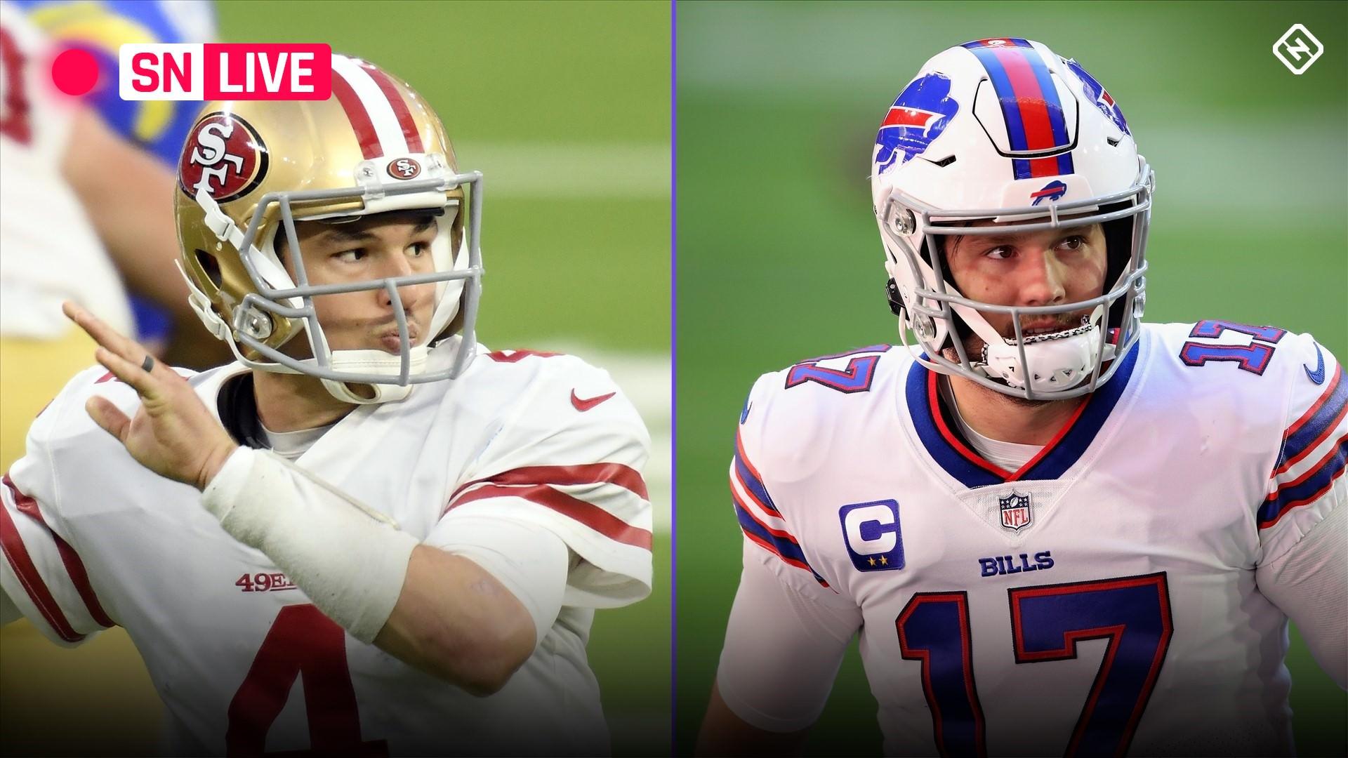 Placar ao vivo do 49ers vs. Bills, atualizações, destaques do jogo 'Monday Night Football' da NFL