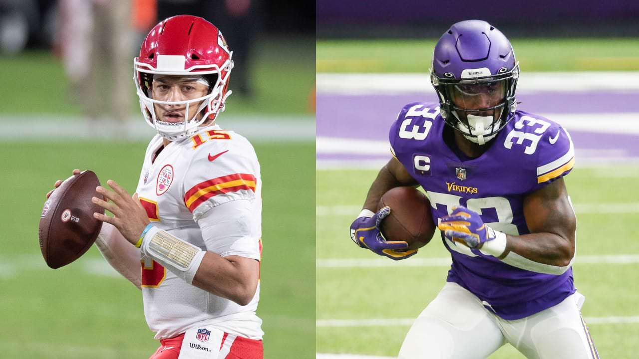 Chiefs QB Patrick Mahomes, Vikings RB Dalvin Cook Lead Players of the Month – NFL.com