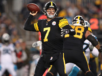 Big Ben, Steelers implacável em steamrolling Panthers – NFL.com