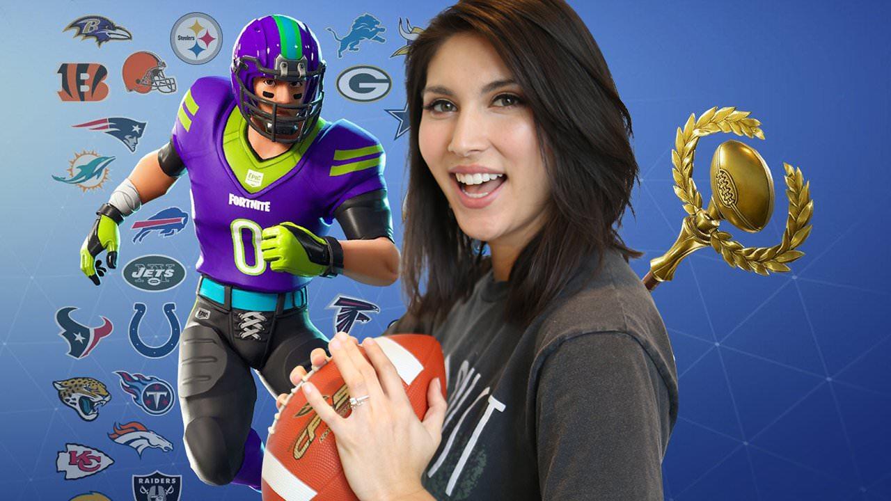 Fortnite: Melvin Gordon da NFL vs Sydnee e Chappy da IGN
