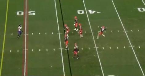 Baker Mayfield de alguma forma derrubou uma Ave Maria para o passe mais longo da história da NFL