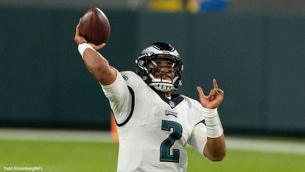 O futuro de Carson Wentz é incerto, já que Jalen Hurts inicia sua primeira carreira nos Eagles – NFL.com