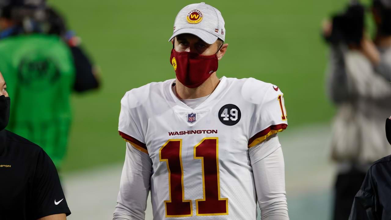 Ron Rivera: Alex Smith machucou a panturrilha na vitória de Washington sobre o 49ers – NFL.com