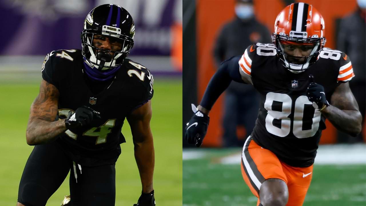 Ravens CB Marcus Peters nega ter cuspido no Browns WR Jarvis Landry – NFL.com